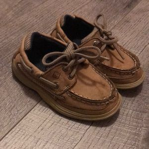 Toddler boys size 8 Sperry boat shoes
